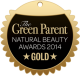The Green Parent National Beauty Awards 2014 Gold