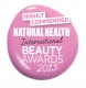Natural Health Magazine Beauty Awards Highly recommended 2015