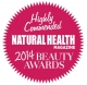 Natural Health Magazine 2014 Highly recommended